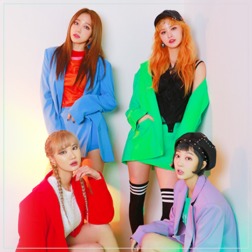 EXID韓國女子天團演唱會(劃位)