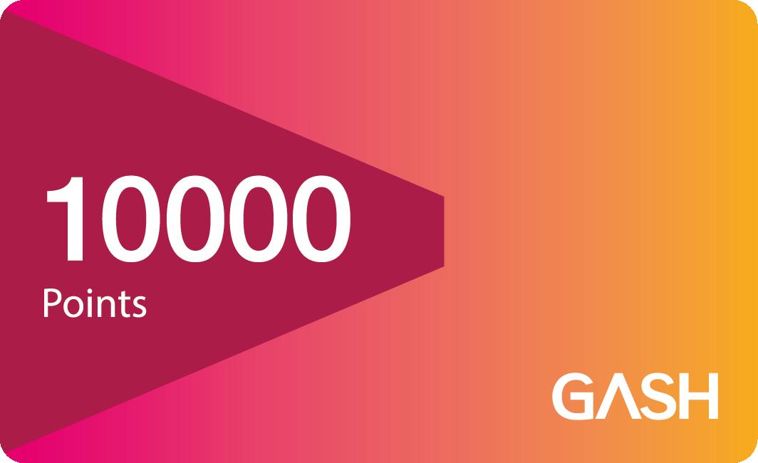 GASH 10000點